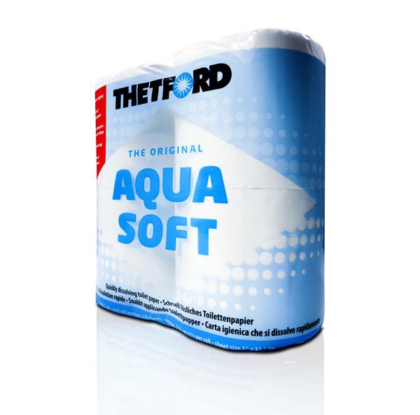 Χαρτί τουαλέτας Aqua Soft