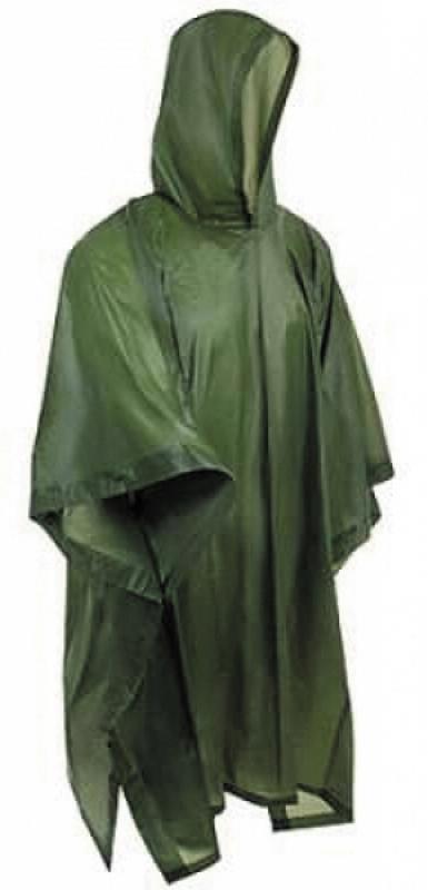 Αδιάβροχο Poncho Βινυλίου