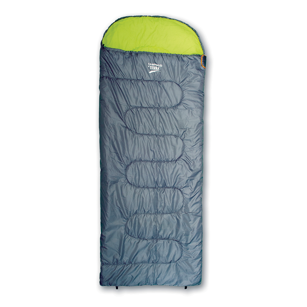 Υπνόσακος Camping Plus By Terra Classic 150 Large Γκρι