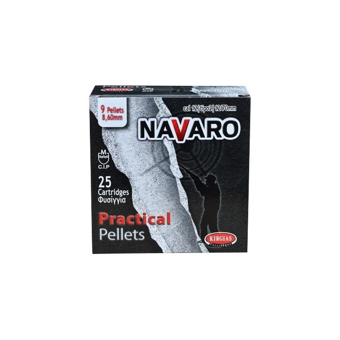 Φυσίγγια 9βολα Navaro Practical Pellets