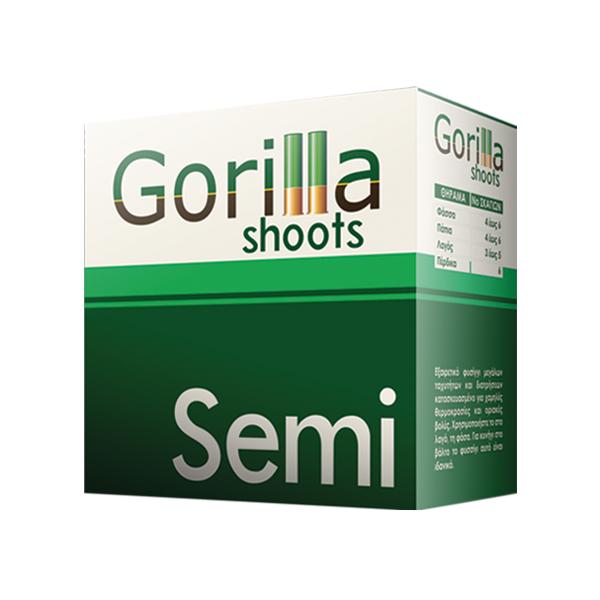 Φυσίγγια Gorilla Shoots - Semi