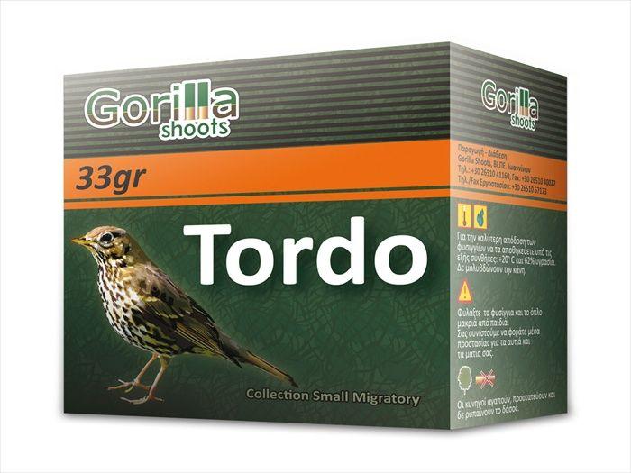 Φυσίγγια Gorilla Tordo 33 Gr.