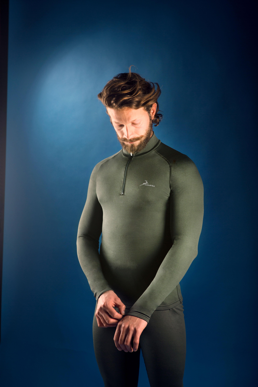 Ισοθερμική Μακρυμάνικη Μπλούζα Με Φερμουάρ Konustex Progame-45