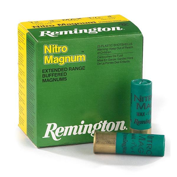 Φυσίγγια Remington Nitro Magnum 40 Gr.