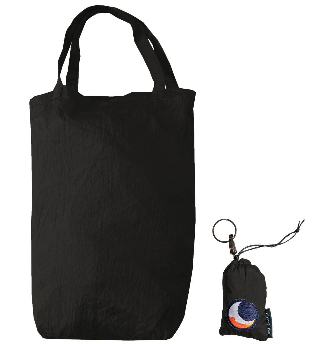 Τσάντα Με Μπρελόκ Black