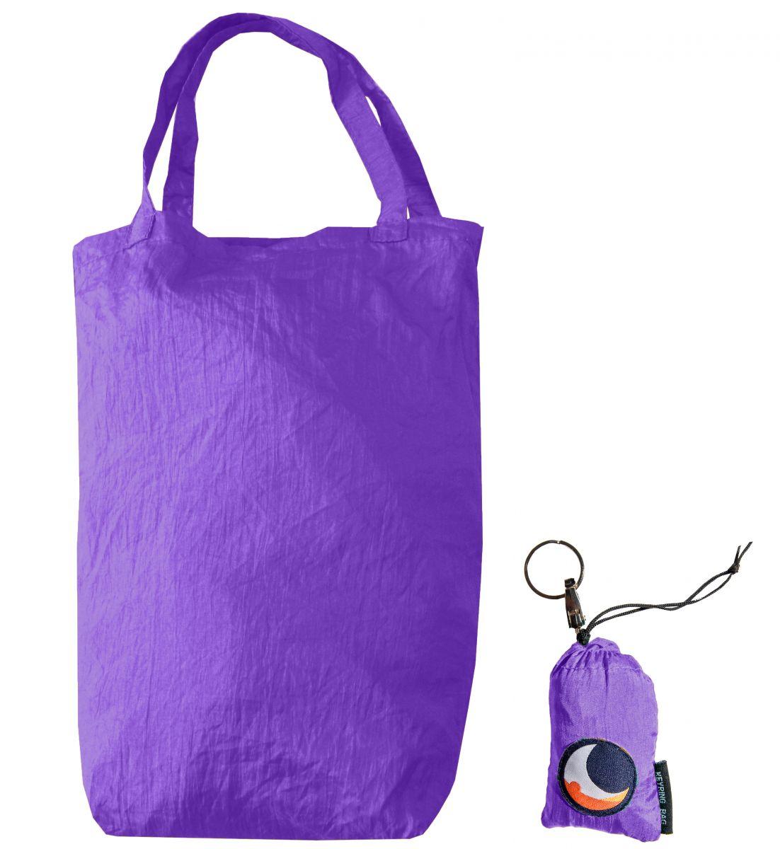 Τσάντα Με Μπρελόκ Purple