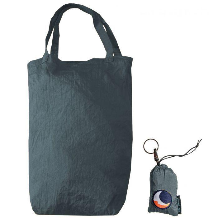 Τσάντα Με Μπρελόκ Dark Grey