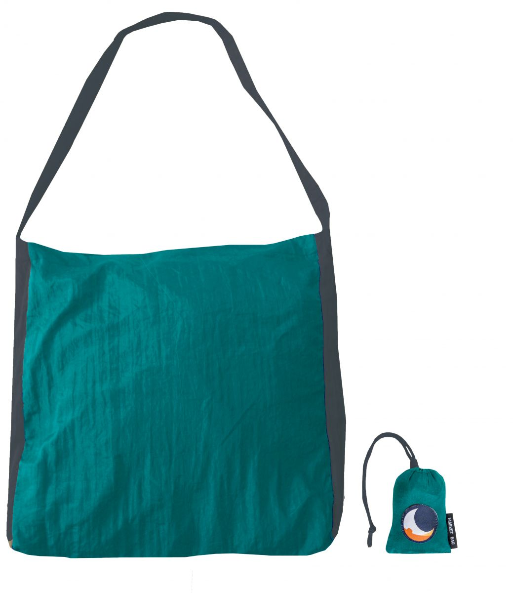 Τσάντα Μεγάλη Emerald Green/dark Grey