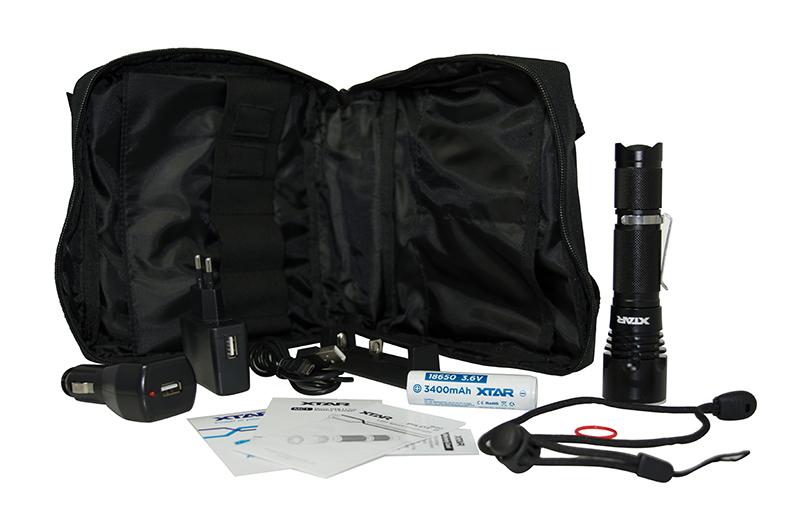 Φακός Xtar B20 Φωτεινότητας 1100lm Full Set