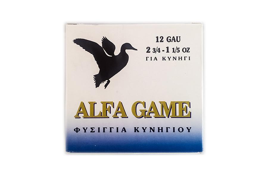 Φυσίγγια Alfa Game 34 Gr. Διασποράς