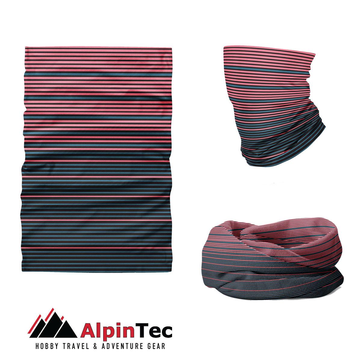 Μαντήλι Λαιμού Alpintec Coolmax Uv Blines