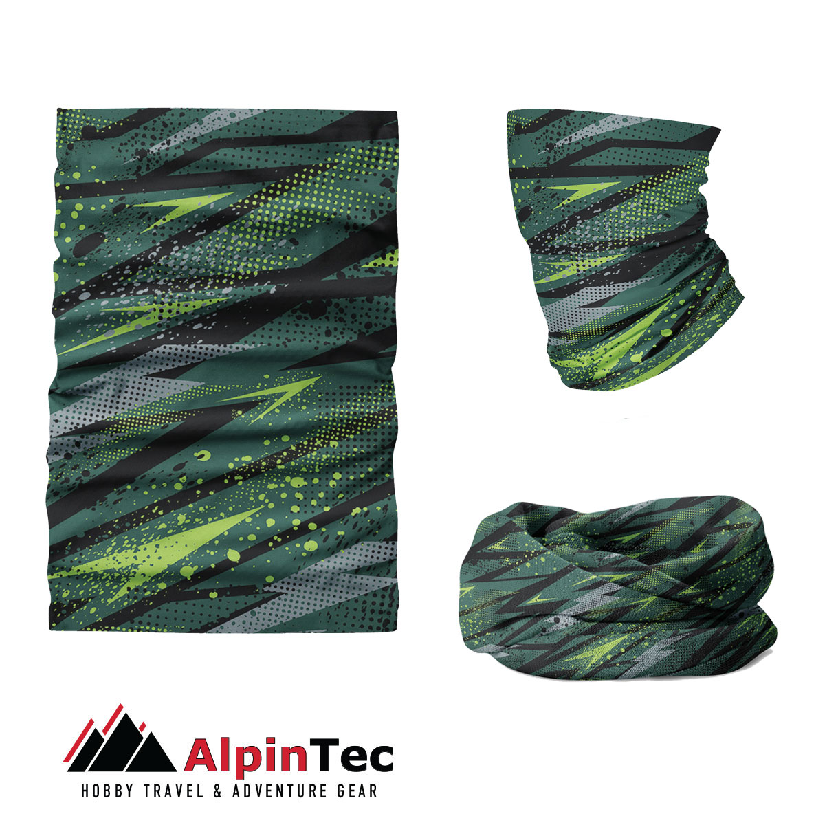 Μαντήλι Λαιμού Alpintec Coolmax Uv Fondo