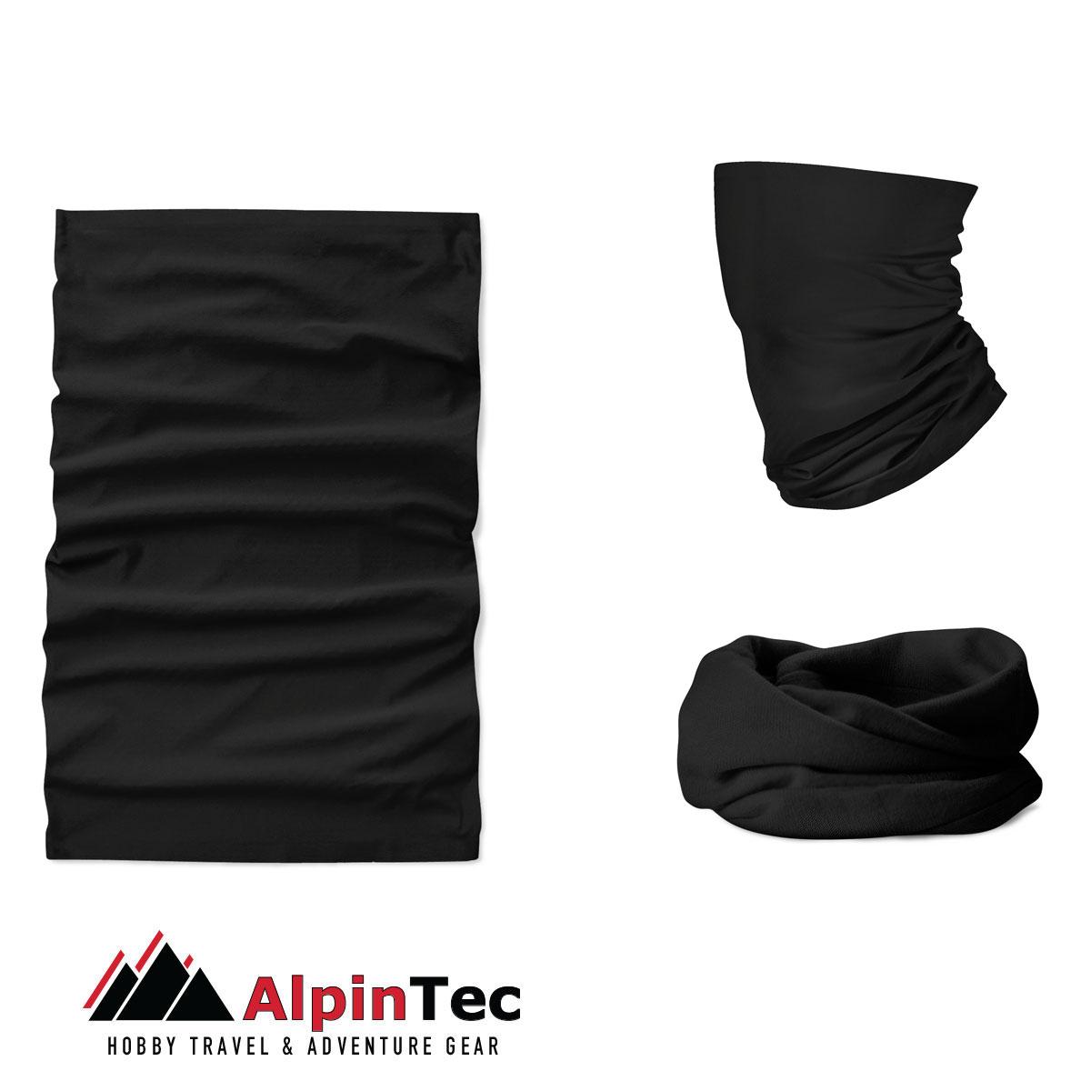 Μαντήλι Λαιμού Alpintec Coolmax Uv Black