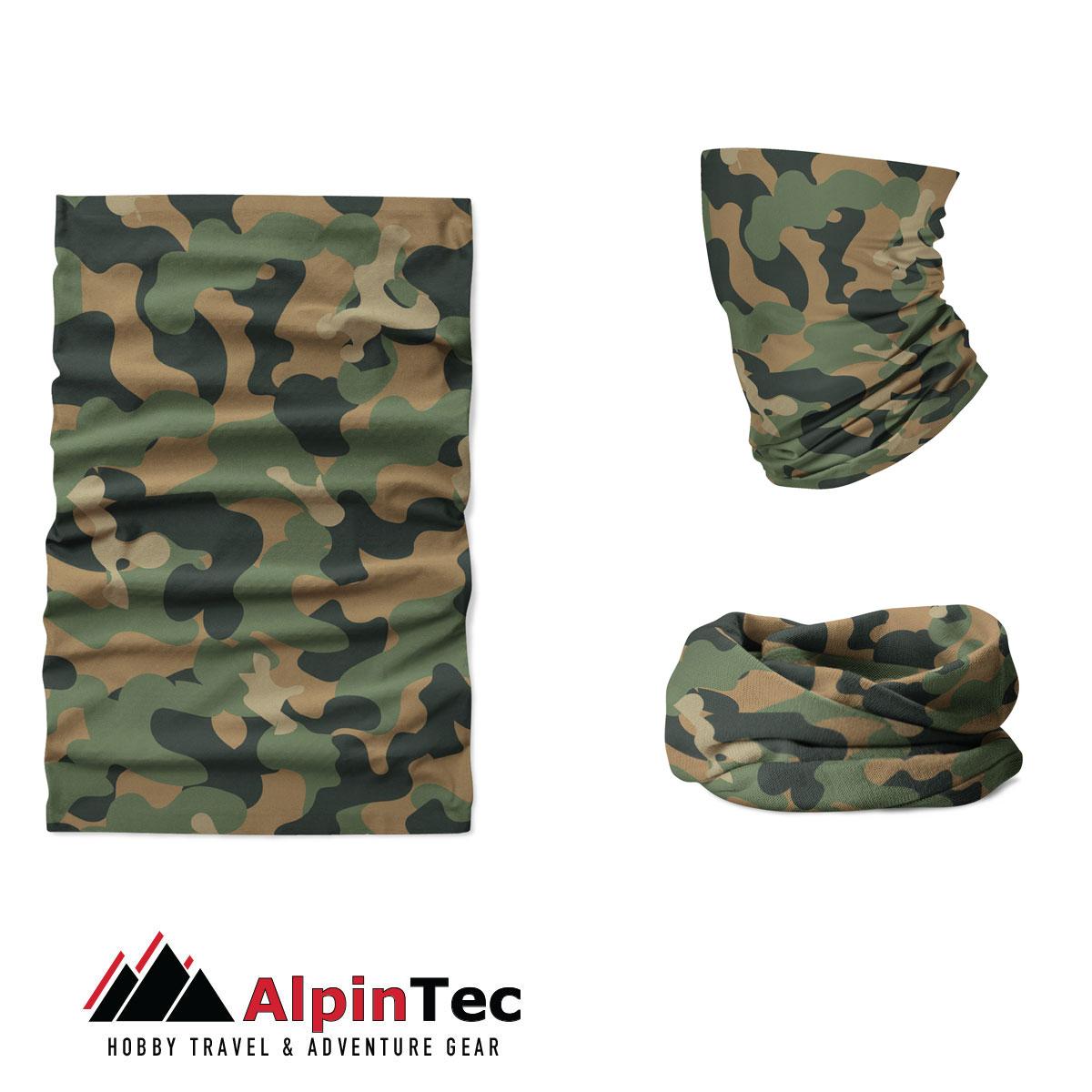 Μαντήλι Λαιμού Alpintec Coolmax Uv Soldato