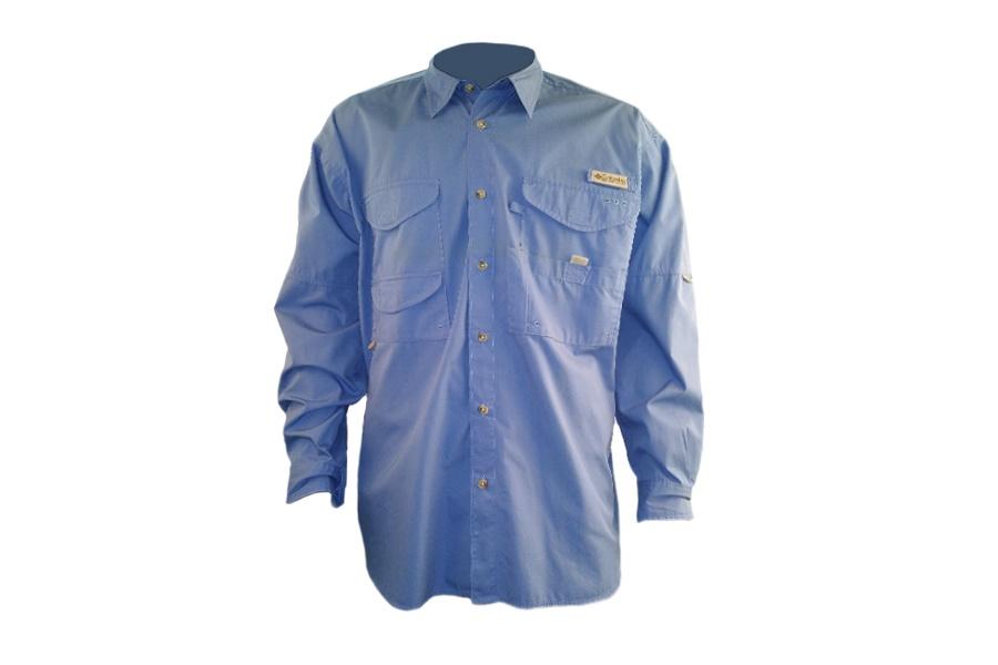 Μακρυμάνικο πουκάμισο Columbia Γαλάζιο