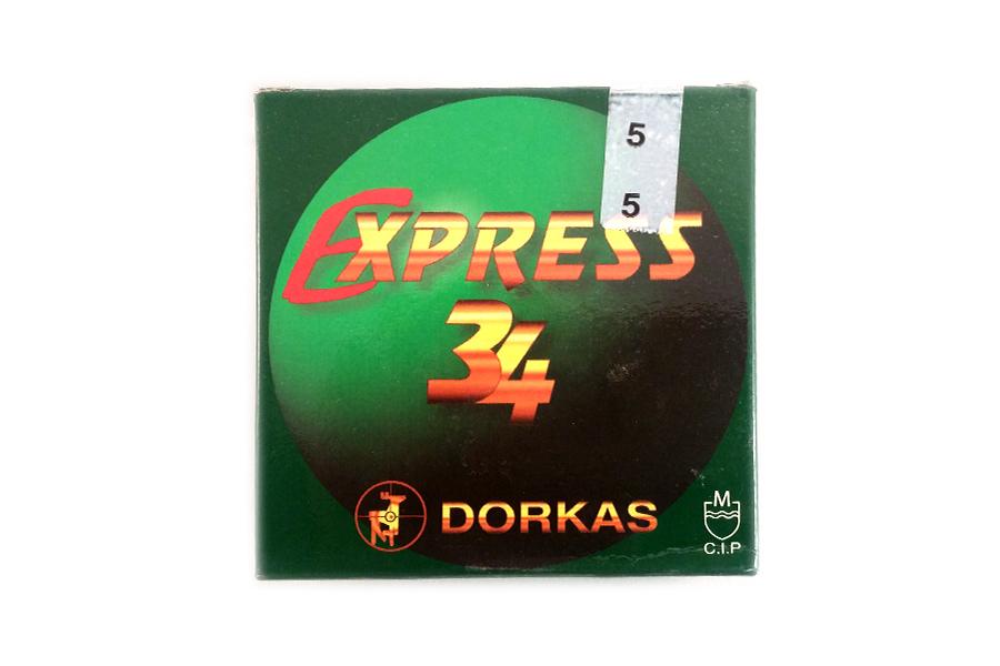 Φυσίγγια Δορκάς Express 34 Gr.