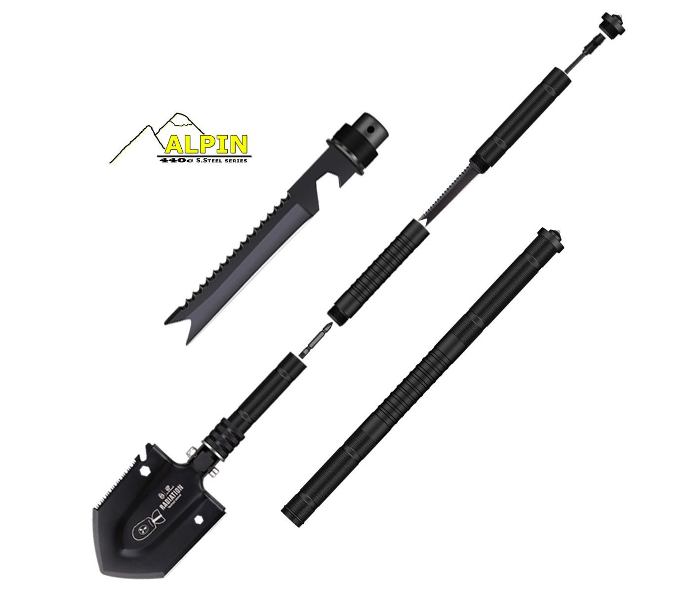 Πτυσσόμενο Φτυάρι Alpin Tactical Shovel