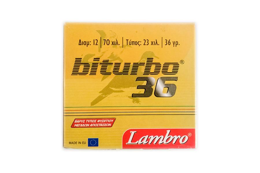 Φυσίγγια Lambro Bitturbo 36 Gr.