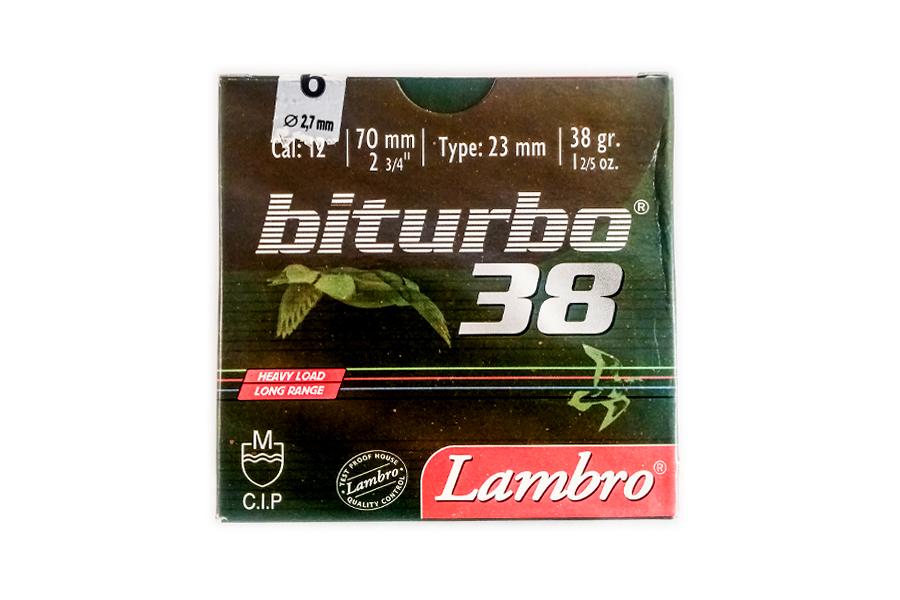 Φυσίγγια Lambro Bitturbo 38 Gr.