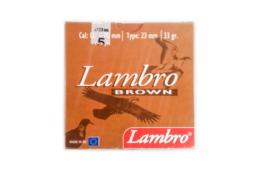 Φυσίγγια Lambro Καφέ 33 Gr.