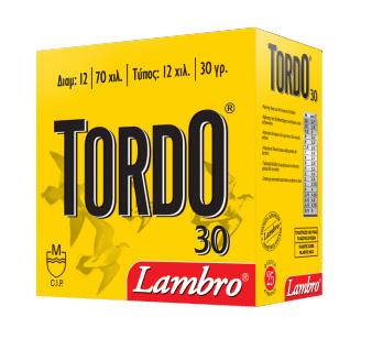 Φυσίγγια Lambro Tordo 30 Gr.
