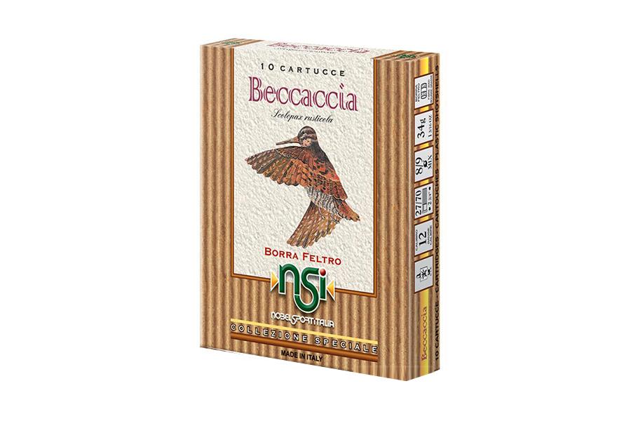Φυσίγγια Beccaccia 34 Gr.