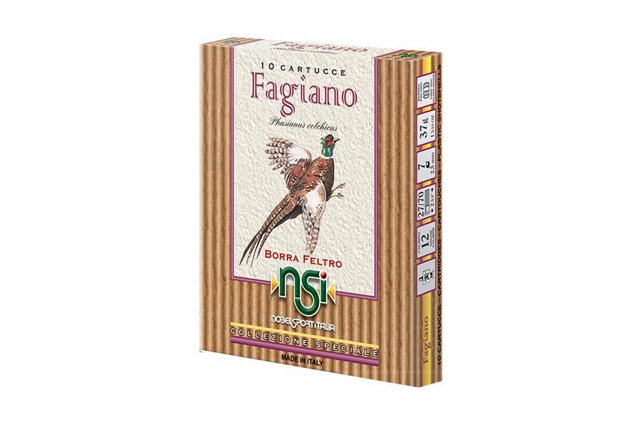 Φυσίγγια Fagiano 37 Gr.