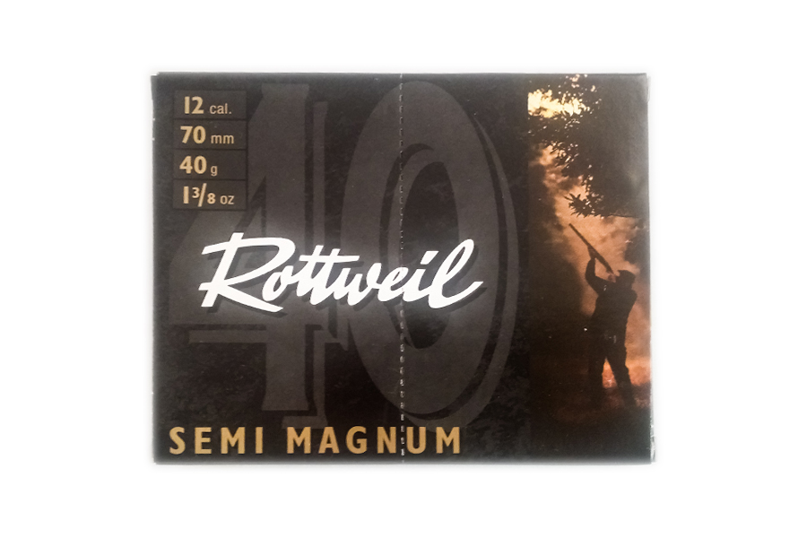 Φυσίγγια Rottweil Semi Magnum