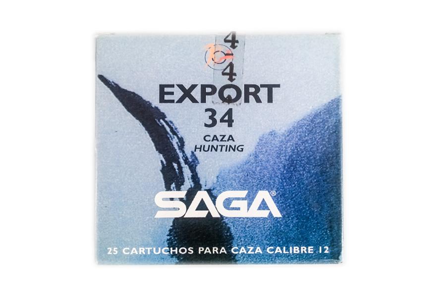 Φυσίγγια Saga Export 34 Gr.