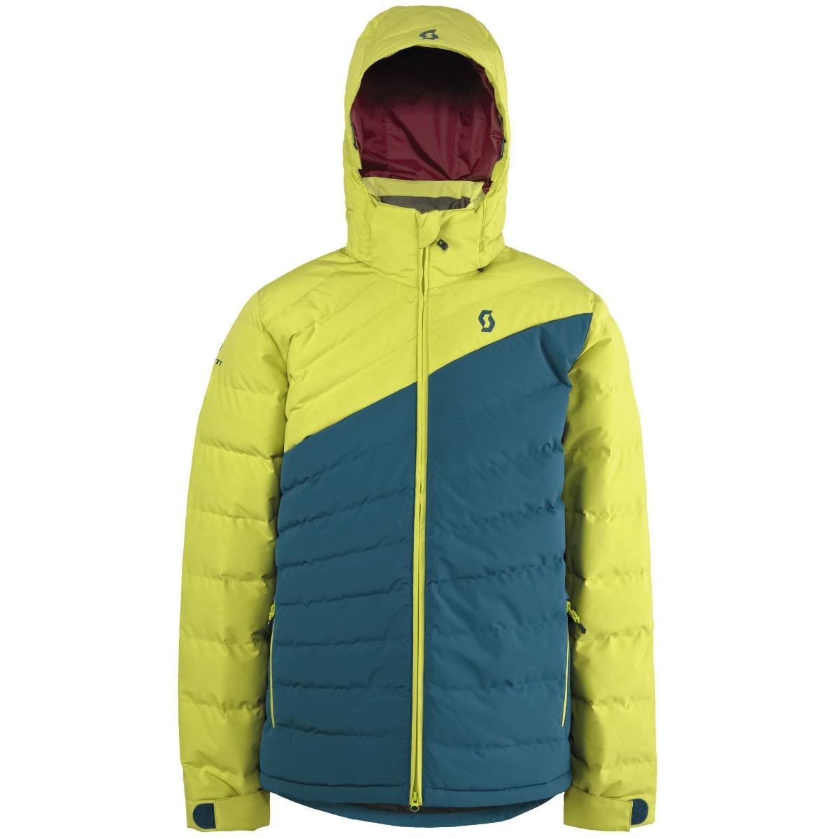 Τζάκετ Scott Terrain Down Chartreuse Yellow-blue