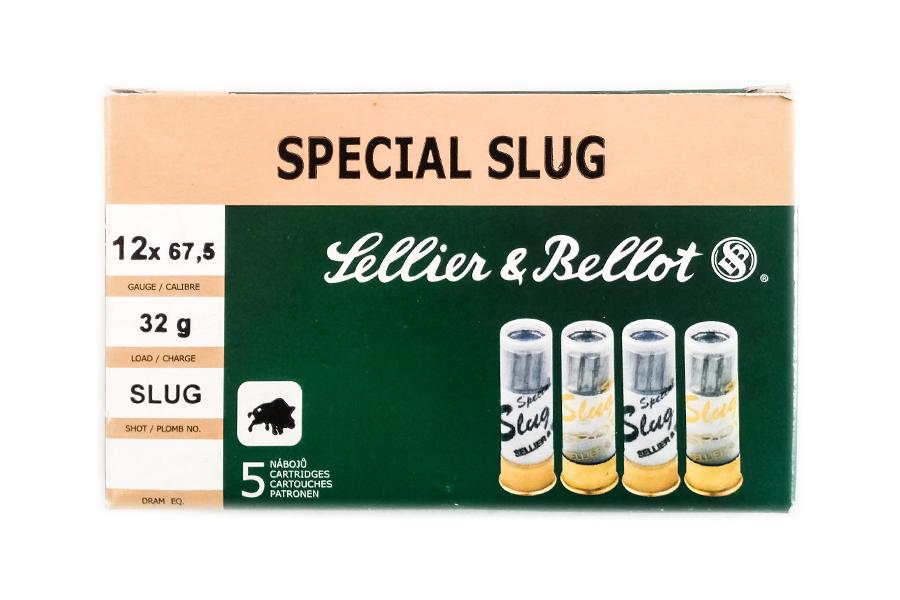 Φυσίγγια Sellier & Bellot Slug 12