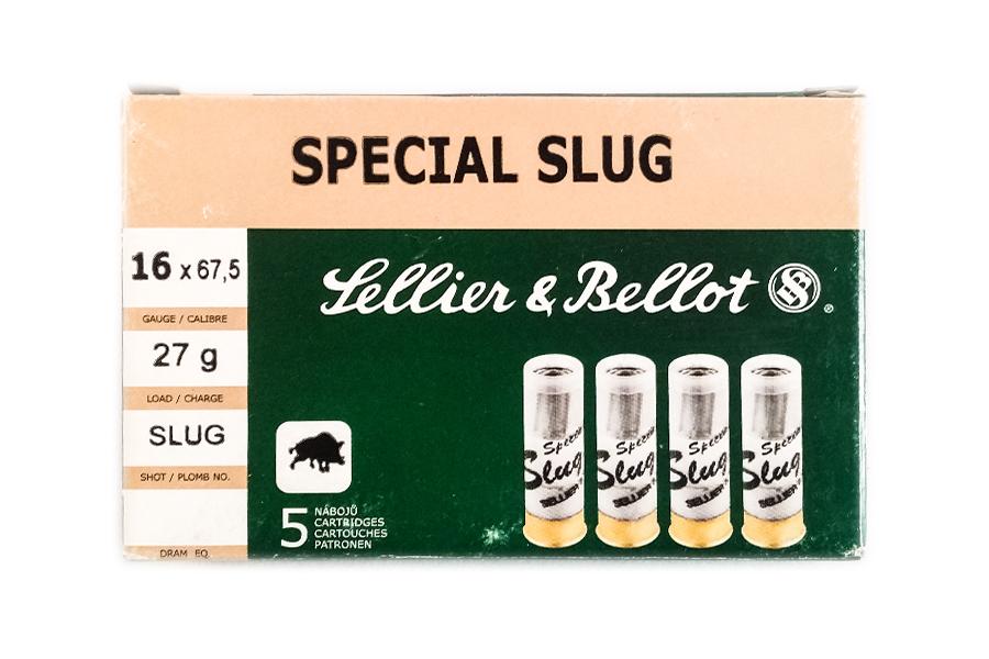 Φυσίγγια Sellier & Bellot Slug 16