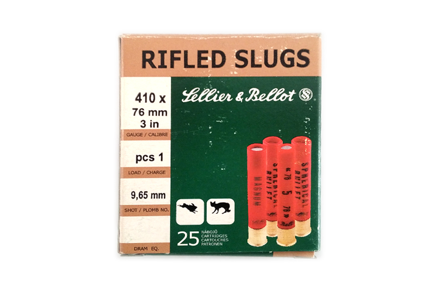 Φυσίγγια Sellier & Bellot Slug 410