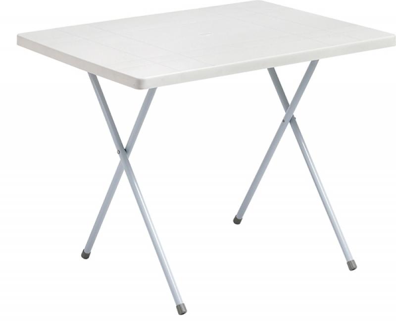 Τραπέζι Πλαστικό 80x60 Cm
