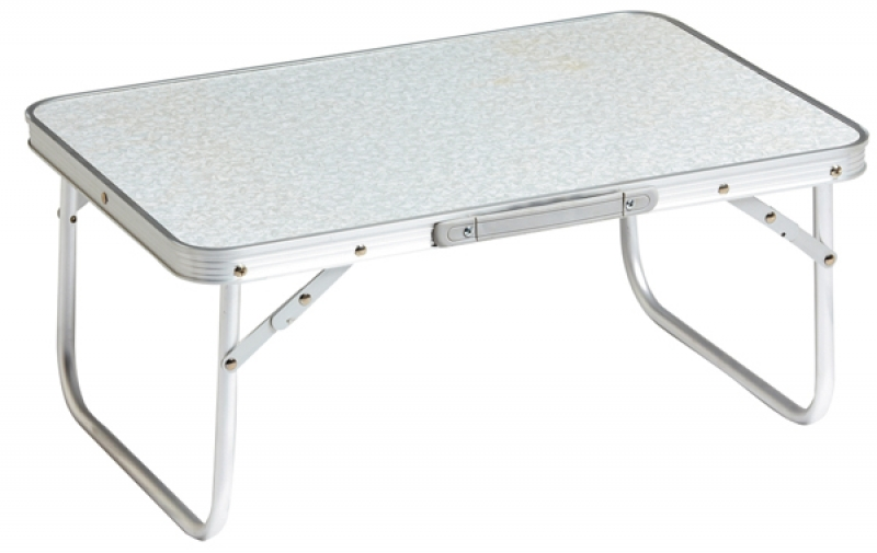 Τραπέζι Αλουμινίου χαμηλό  56x34x24 Cm